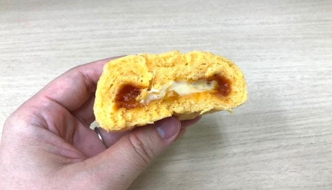 ファミリーマートの「チーズたっぷり熟成生地のピザまん」
