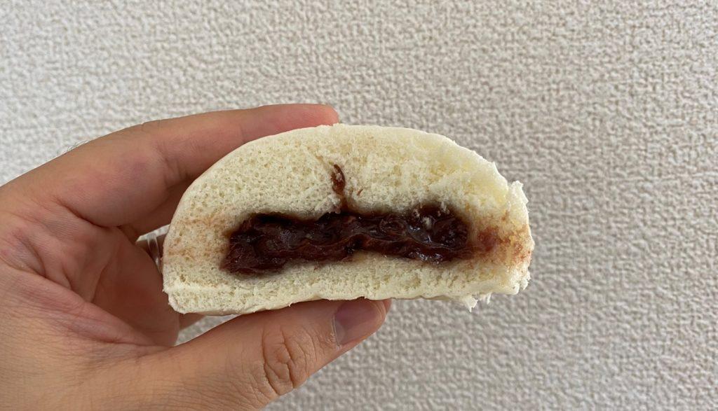 ローソンの「北海道小豆のつぶあんまん」