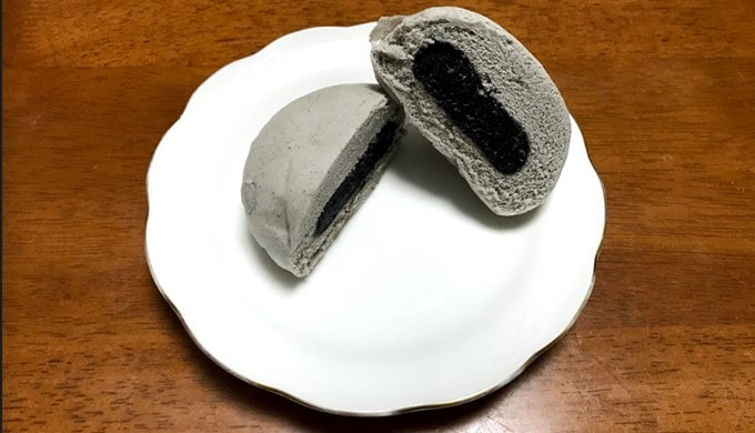 ローソンの北海道小豆のごまあんまん