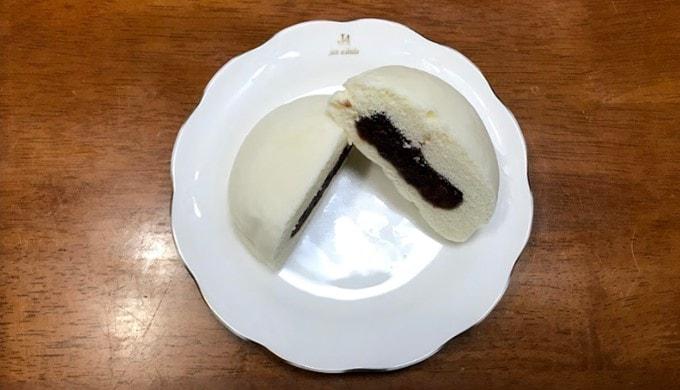 ローソンの北海道小豆のつぶあんまん