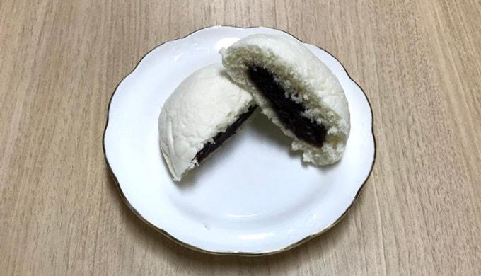 ファミリーマートの「北海道産小豆のつぶあんまん」