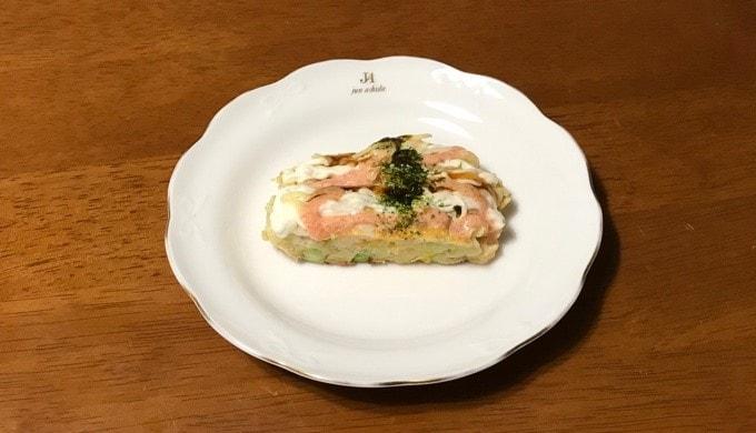 ローソンの【明太マヨのもちチーズお好み焼き】
